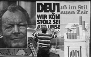 Holger Rüdel, SPD Wahlplakat Willy Brandt, 1972